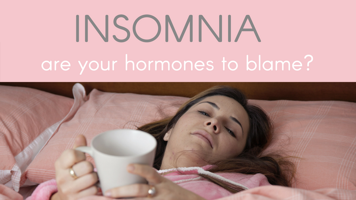 Insomnia – are your hormones to blame, ladies?