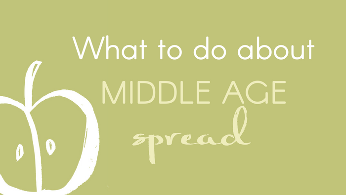 "What to do about body shape and ""middle age spread"" in your 40s and 50s"