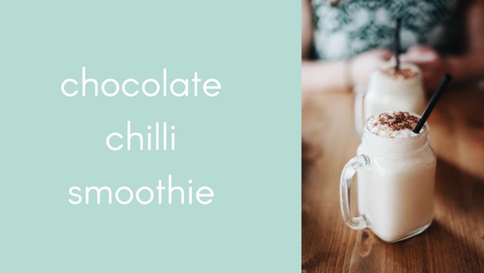 Kapow Chilli Chocolate Smoothie