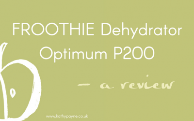 Froothie Dehydrator Optimum P200 – My Review