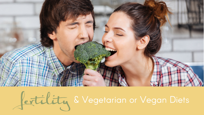 Fertility and Vegetarian Diets or Vegan Diets