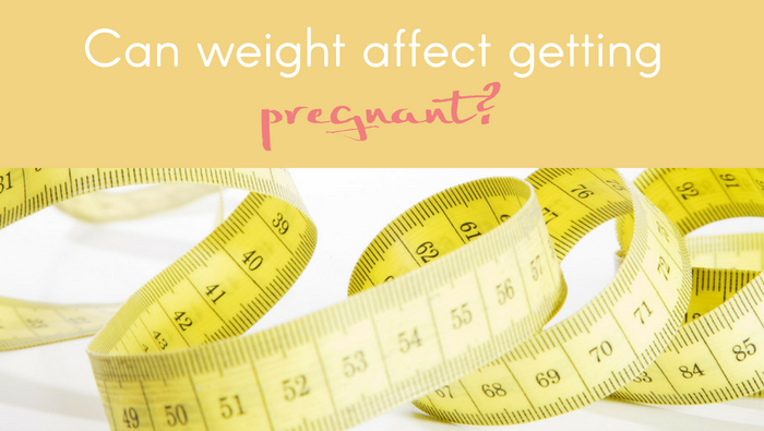 Can Weight Affect Getting Pregnant?