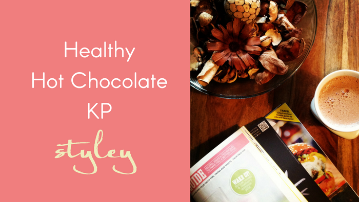 Healthy Hot Chocolate KP Styley