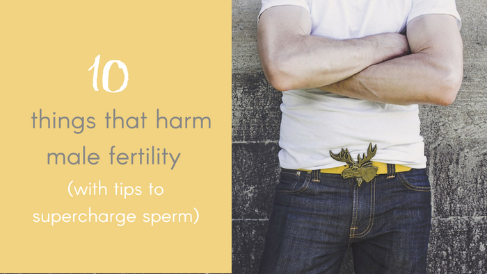 10 Things That Harm Male Fertility